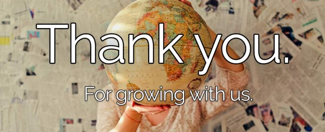 Thank you cover image from Platformax