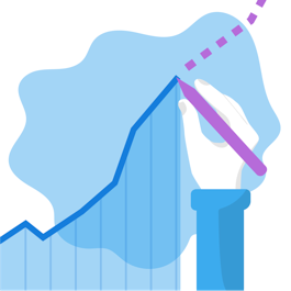 sales growth illustration